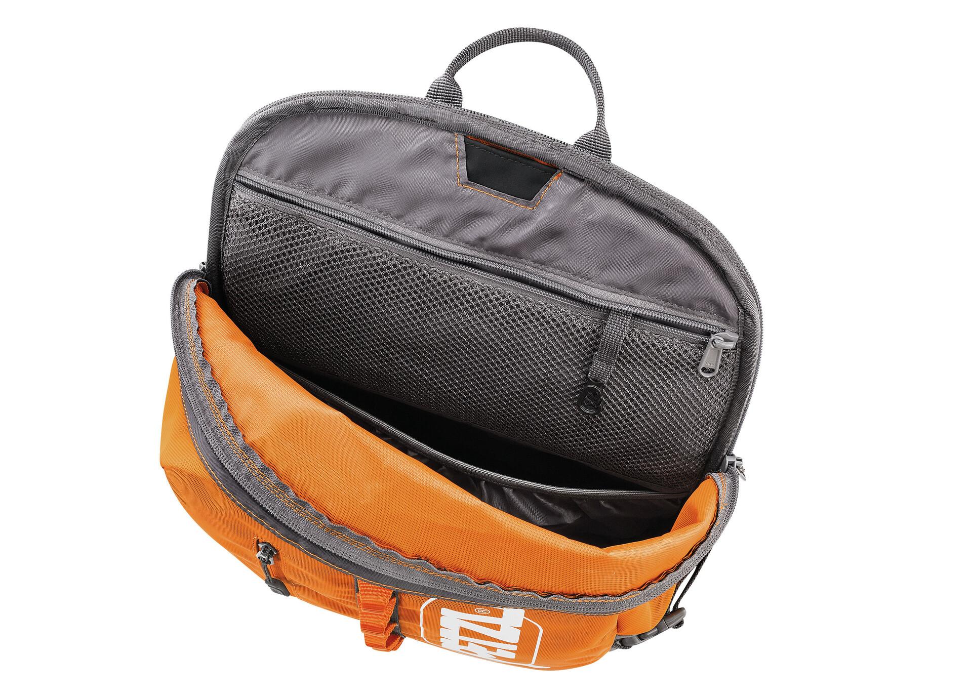Rucksack Kletterausrüstung : Petzl bug rucksack l orange campz